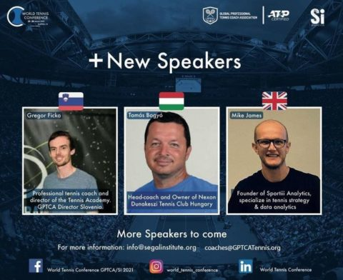 """WORLD TENNIS CONFERENCE by GPTCA/SI 2021 – """"New Speakers on the Block"""""""
