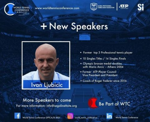 WORLD TENNIS CONFERENCE by GPTCA/SI 2021 – New speaker on the block – Ivan Ljubicic